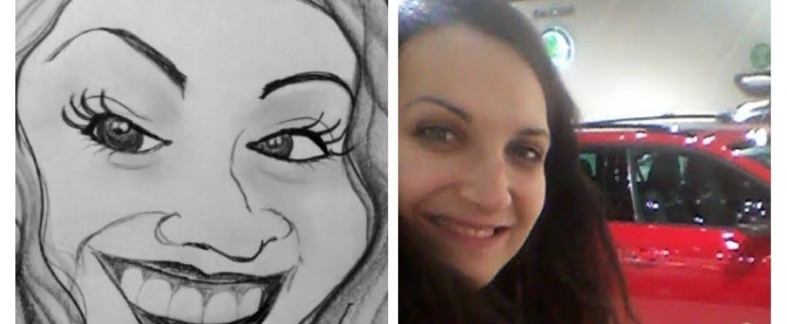 Karikatura - Sylvie